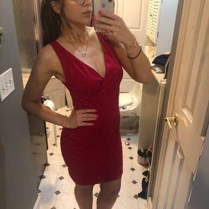 Express Women's bodycon Pink Dress